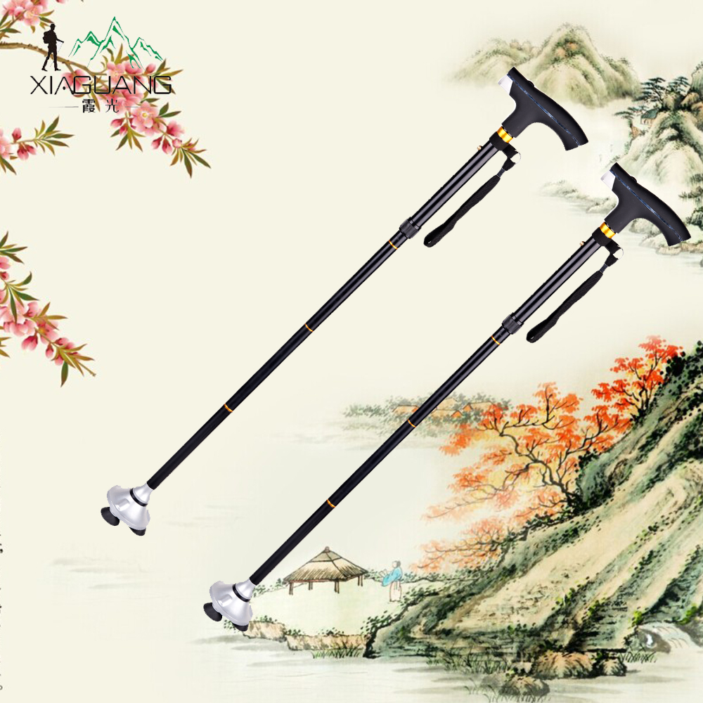 Led light for walking cane sword,wood walking cane with light,designer walking canes for elder