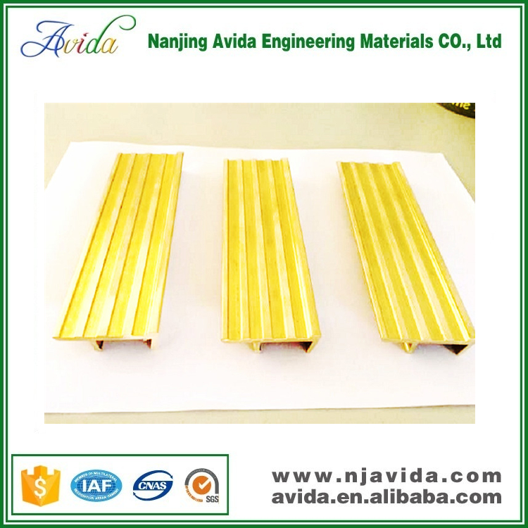 Indoor Nonslip Brass Nosing for Stairs Step Treads
