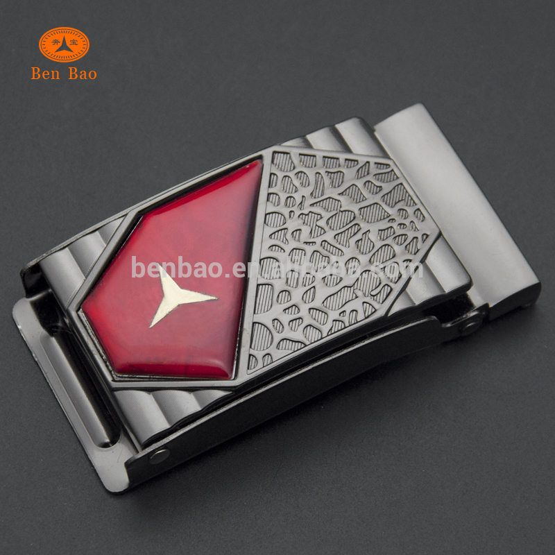 wholesale supplier china online custom metal material buckle 40MM ZINC FANCY GLUE CD LASER FLAP BUCKLE with epoxy resin sticker