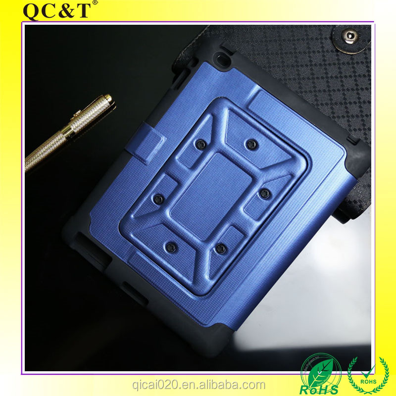 Shockproof Silicone Defender Cover Anti-shock Leather Case for Ipad 2.3.4