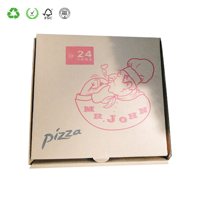 Rapid Delivery Customized Pizza Cardboard Carton Box
