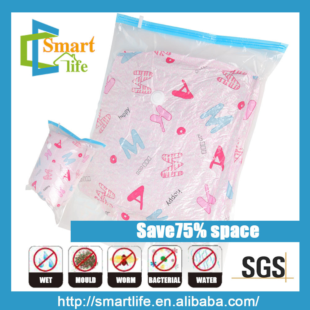 vacuum seal space saving packing bags for bedding clothes