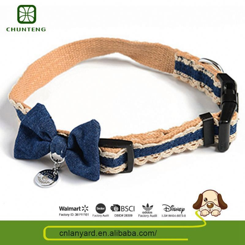 Custom Design Colorful Animal Product Recycled Material Dog Collars