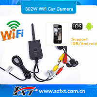 Wifi Rear View Camera Long Range Waterproof Wifi Wireless Backup Camera For Trailer/Truck ,Support IPhone,IPad,android phone