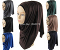 Muslim Jersey Shimmer Hijab Women's Glitter Shawl Scarf Mutil Mixed Color Wholesale JLS122