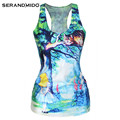 Summer Racerback Custom Printed Loose Fit Workout Tank Top