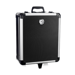 Aluminum shockproof trolley case tool storage box