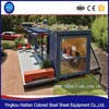 Container homes for sale in sabah prefabricated glass house Shipping 20 and 40 feet steel framed prefab home container