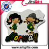 China factory cheap blank resin fridge magnet
