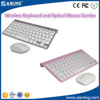 Wireless Keyboard And Silent Optical Mouse