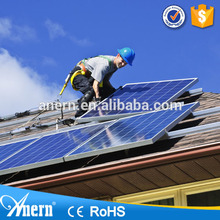 solar panel on grid power system complete solar inverter information in hindi