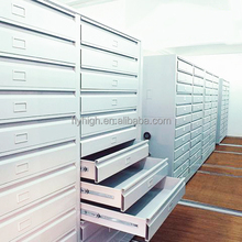 Used library shelving steel drawer map cabinet