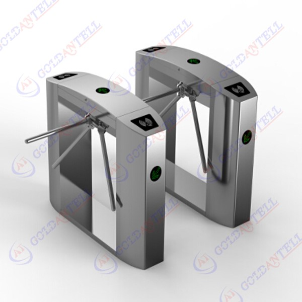 rust-proof, durable, resistant to external damage tripod turnstile in rfid auto door entry access control system