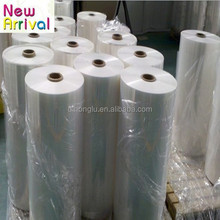 PE heat shrinkable shrink plastic film for beverage bottle packaging
