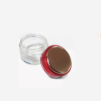 Hot sale Transparent 250ml glass cosmetic jar