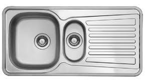 standard single bowl kitchen chrome sink