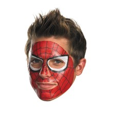 customized hero face full face temporary tattoo