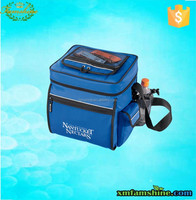 promotional polyester insulated wine cooler bag