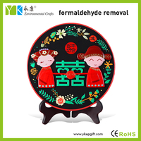 The traditional Chinese wedding design, wooden handicrafts, in addition to formaldehyde