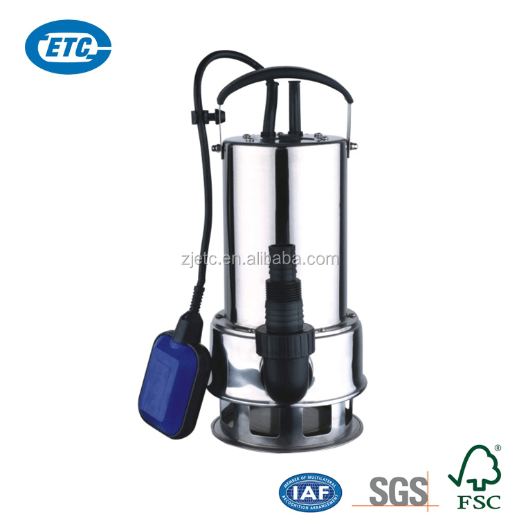 Clean water stainless steel 1 inch submersible pump