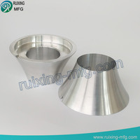 cnc machining aluminum rotate cover for Mechanical parts
