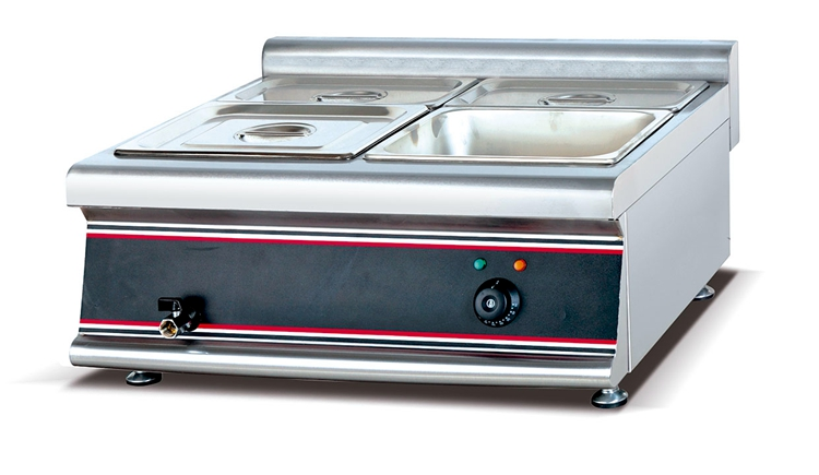 Commercial Stainless Steel Electric Table Top Bain Marie