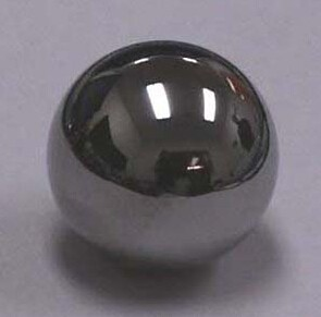 Long working life and high precision 25mm carbon steel ball