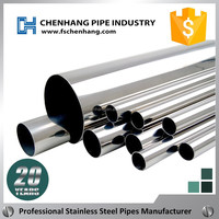 China factory supply NO.4 mirror finish stainless steel pipe/tube