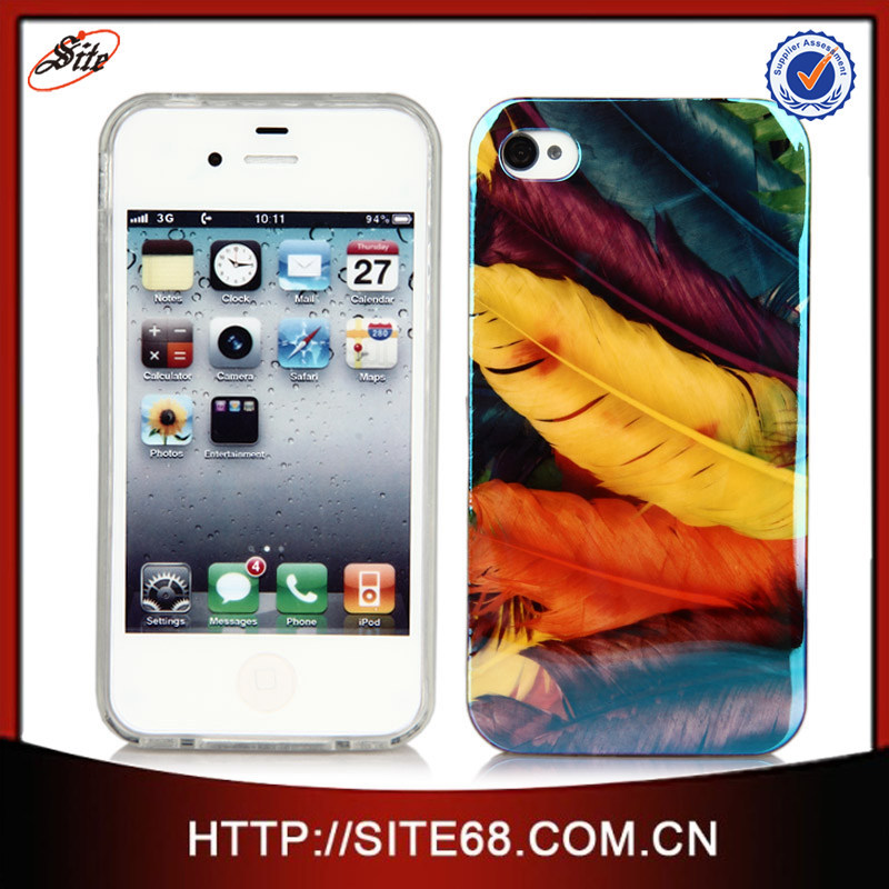 Custom design cell phone IMD tpu case for iphone 4g 4gs 5G 6G 6plus