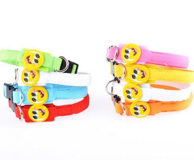 godbead collars for dogs LED luminous collar dog supplies glowing dog collar smile face honden Goods for pet accesorios