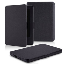 Cover factory provide the case for kindle 7th generation smart leather case with black color
