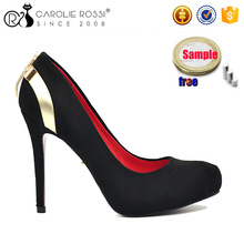 CR492 lady ellegal 11cm high heels red sole brand name shoes zapatos de mujer