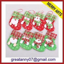 light-up-christmas-socks Customized deign fashion christmas santa socks, plastic santa boots, christmas promotional gift