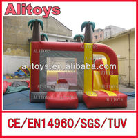 Good Quality PVC indoor inflatable mini combo games jumper slide for kid