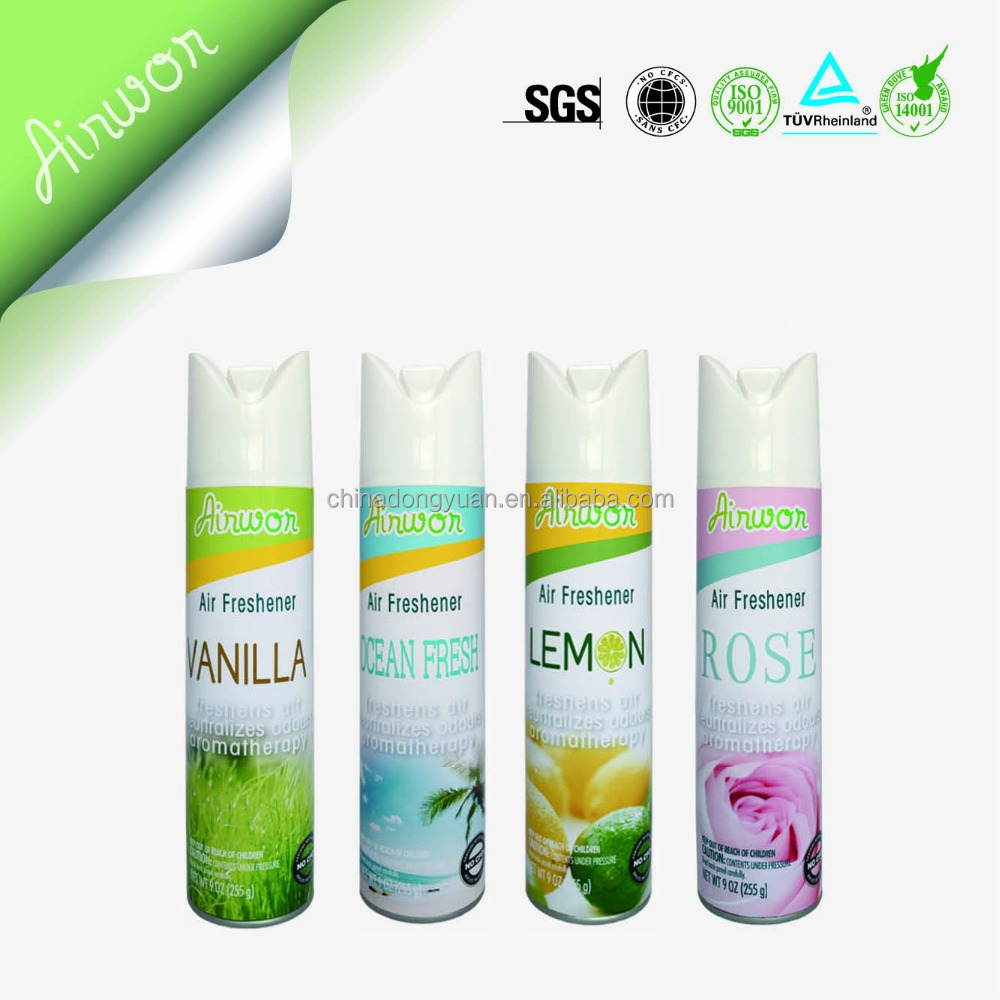 High quality Aerosol Air freshener spray for house/car/office