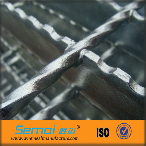 galv security safety steel grating fence,panoramica fencing