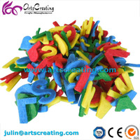 Colorful Felt Letters Diy Educational Alphabets