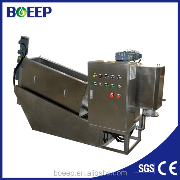 24-H Automated Sewage Dehydrator Equipment for Agricultural Industry