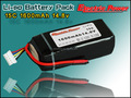 Lipo 14.8v 3.7v 1300mah li-polymer/li-ion rechargeable battery
