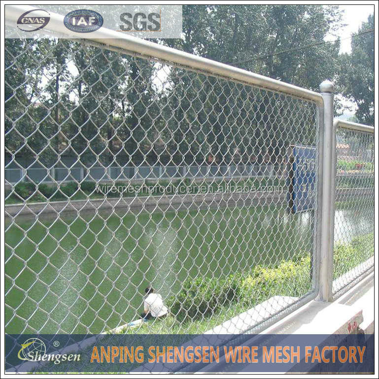 Chain Link Woven Wire Fencing/Pvc Insulated Chain Link Fence, View ...