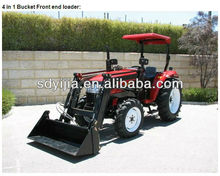 Hot sale used front end loader farm tractor