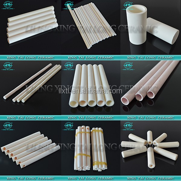 Insulation Ceramic Pipe for Thermocouple Protection More than 99% Alumina Ceramic Pipe