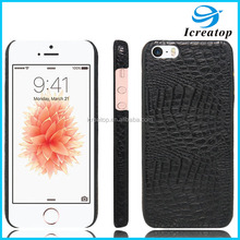 New Design Mobile Phone Case for iPhone5 Hard PC+Soft PU Case for iPhone 5s