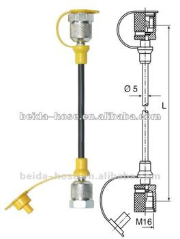 SMS-20-508mm-B Hydraulic Test Hose