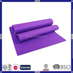 manufacture pvc best selling yoga mat