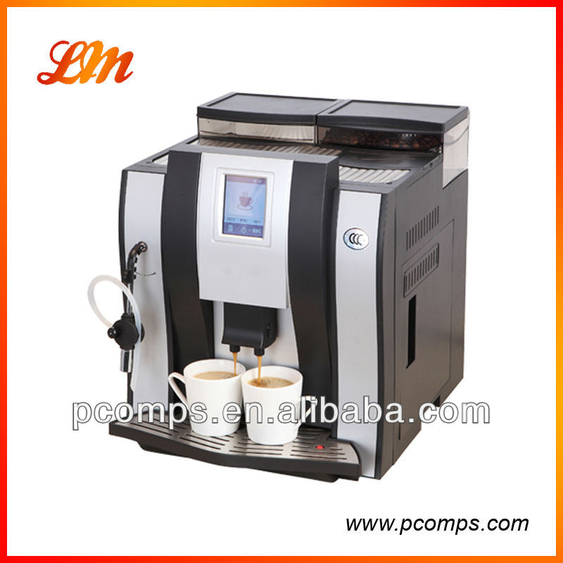 coffee machine with steamer