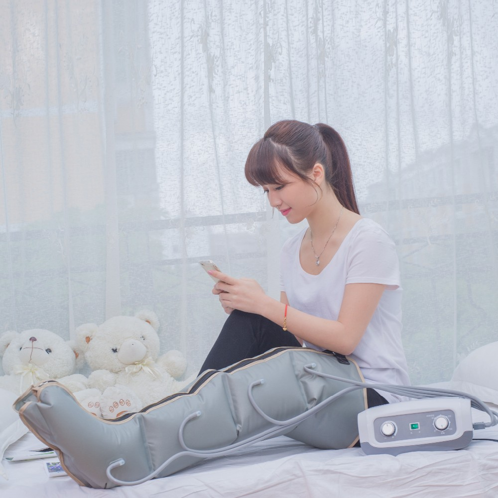 Air pressure therapy equipment for relief lymph edema / varicose vein
