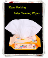 Baby Ass,hand,face ,dinner Cleaning Wipes Soft Cotton Non-woven Baby Wipes