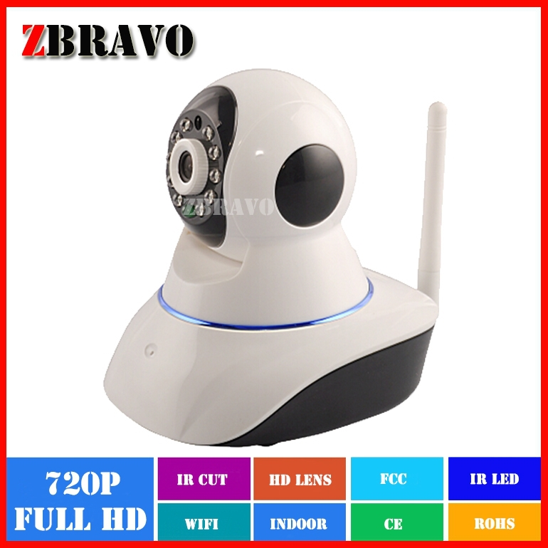 Factory Price 720P 1Megapixel wireless wifi Robot ip <strong>camera</strong>, P2P Pan tilt network Household Home Security IP <strong>camera</strong>