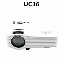 UNIC 2016 New portable projector,led projector,home cinema projector UC36
